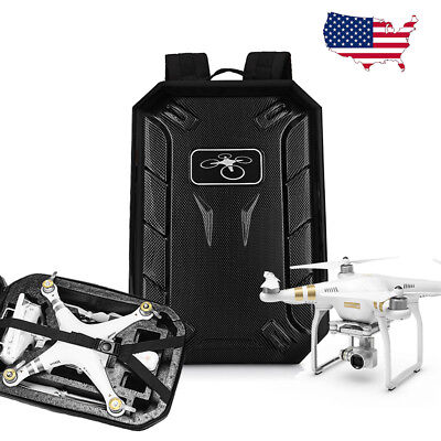 For DJI Phantom 4 3 Adv Pro Backpack RC Drone Bag Shoulder Hard Case Waterproof