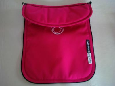 Bugaboo Cameleon Stroller Bassinet Apron Pink Canvas Baby CarryCot Cover NEW