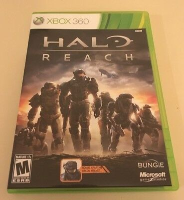 halo reach instruction manual booklet only xbox 360 5 99 rh picclick com Halo Master Chief Halo Wars