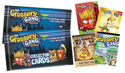 GROSSERY GANG Collector Cards Trading Cards Series 1 Booster Pack
