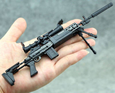 "1/6 Scale MODO Sniper Rifle Weapon Gun For 12"" Action Figure 1:6 Model Toy"
