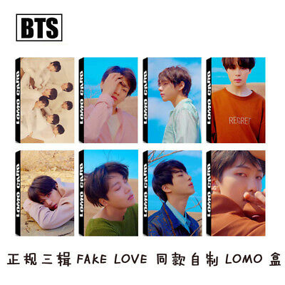 KPOP BTS Love Yourself 转 Tear Paper Lomo Cards JIMIN JUNG KOOK Photocard Poster