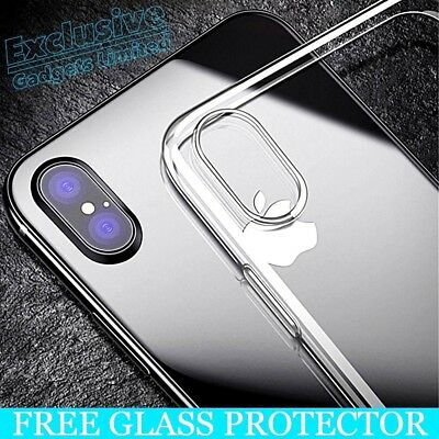 For Apple iPhone X 8 7 6S Plus ShockProof 360 Hybrid Soft Silicone Case Cover hi