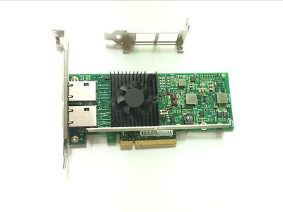 INTEL/DELL X540-T2 CONVERGED DUAL PORT NETWORK ADAPTER K7H46/3DFV8 US seller