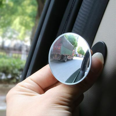 Car Round Auto 360° Door Side Wide Angle Blind Spot Mirror Rearview Mirror