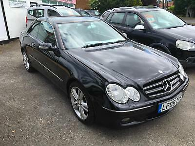 Mercedes-Benz CLK220 2.2TD CDI Automatic Avantgarde Coupe, Climate,Leather, 2008