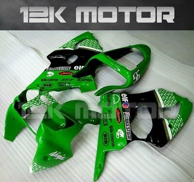 KAWASAKI NINJA ZX-6R ZX6R 2000 2001 2002 Fairing Set Fairings Kit Panel 18