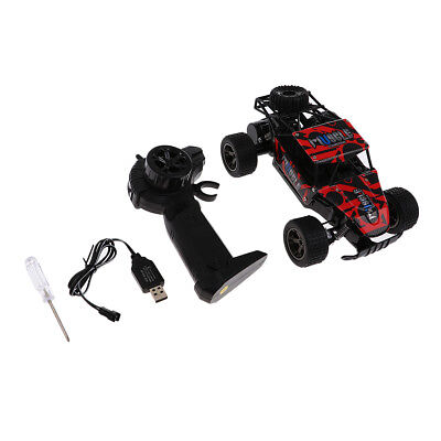1/20 2.4G Radio Control Rock Crawler Drive RC Car Off-Road Buggy Gift - Red
