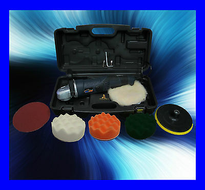 Professional Deluxe Car Polisher Buffer With 7 Heads