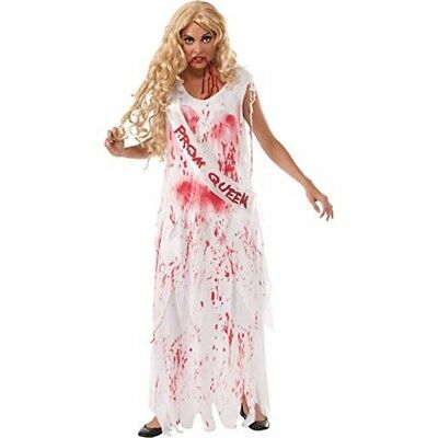 Rubie's Official Adult's Bloody Prom Queen Bride Halloween Costume - Small -