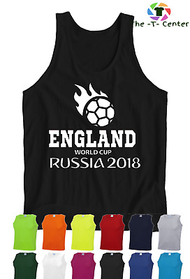 ENGLAND Football VEST World Cup 2018 PERSONALISED NUMBER Mens & Kids