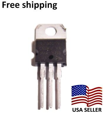 10 Pcs  KA7805 5 Volt 1A  LM7805 Voltage Regulator  Fairchild US Seller