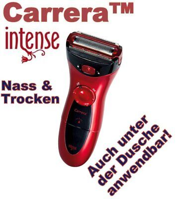Carrera® Intense Silk™ Design Ladyshaver Damenrasierer Wet/Dry Nass/Trocken 2797