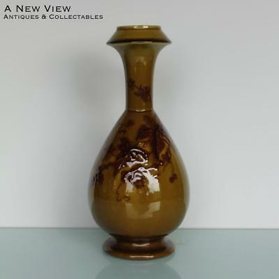 Antique Art Nouveau pottery vase by Stapleton.