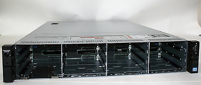 """New Dell PowerEdge R720xd LFF 3.5"""" x 12 case with backplane cables fans & risers"""