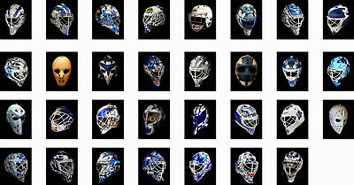 Goalie Mask 8x10 Toronto Maple Leafs Choose from list (UPDATED)