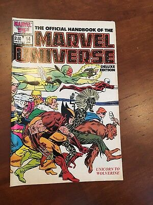 The Official Handbook Of The Marvel Universe Deluxe Edition #14 Jan