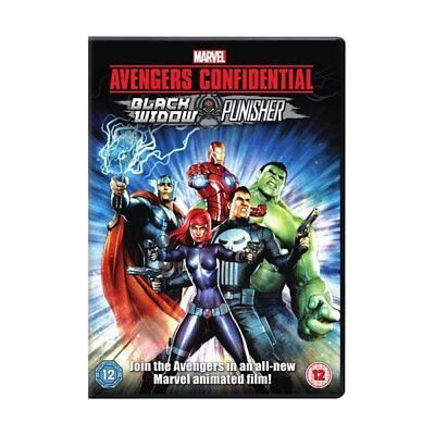 DVD - Avengers Confidential: Black Widow and Punisher