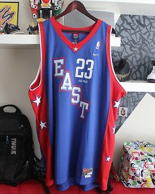 e8baa9464f3 Vintage Nike Lebron James East All-Star Jersey Cleveland Cavaliers Classic  3XL