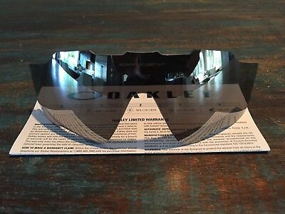 0f29c75fee4 NEW GENUINE OAKLEY Jawbreaker Chrome Iridium Vented Replacement Lens ...