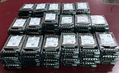 "Mixed Lot of 86 Dell 146GB 15k 2.5"" SAS 6Gbps HDDs (Toshiba/Seagate/Hitachi)"