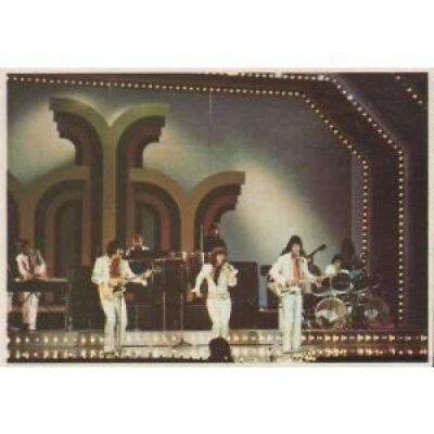OSMONDS Picture Pop '73 CARD Italy Panini 1973 A6 Collectors Card With Info On