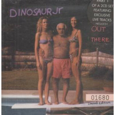 DINOSAUR JR Out There CD UK Blanco Y Negro 1993 Numbered 4 Track Part 1 Of 2