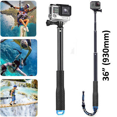 Camera Selfie Pole Extendable Telescopic Monopod Stick  GoPro  Hero 5 4 3+ 3 2