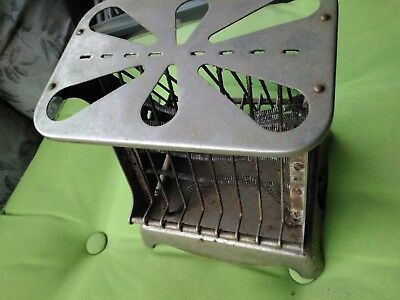 Antique toaster El tosto Pacific electric company 1910 first toaster