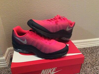 NEW NIKE Air Max Invigor Print Men's Running Shoes  SOLAR RED 749688-602 Sz 11