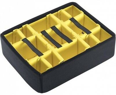 Pelican 1555 Padded Divider Set for 1550 Cases - Yellow/Black