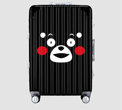 Black Bear Lock Universal Wheel Travel Suitcase Trolley Bag Luggage 20 Inches