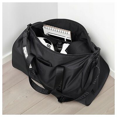 Limited Edition Spanst Duffel Bag Black Padded Back Adjustable Shoulder Strap