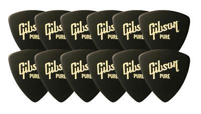 GIBSON APRGG-73H PICK WEDGE HEAVY 12er PACK PLEKTRUM GITARRE PLEK PLEKTREN SET