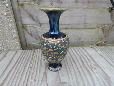 Royal Doulton Slater Vase. Quality antique in very good condition. Approx 7 tall