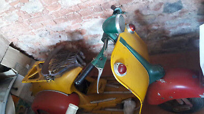 Vespa Allstate from year 1952 - restoration project