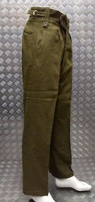 Genuine Vintage British Army No2 Dress Trousers Buttoned Fly WW2 Re-enactment