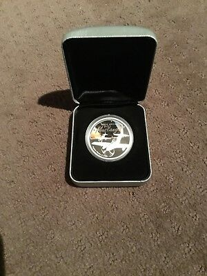 2008 Fighter Planes Of WWII, North American P-51 Mustang 1oz Silver Proof Coin.