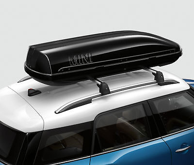 Mini Genuine Roof Box Storage Travel Container Black 320