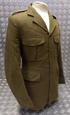 Genuine Vintage British Army Khaki Green No2 Dress Jacket WW2 Re-enactment NB