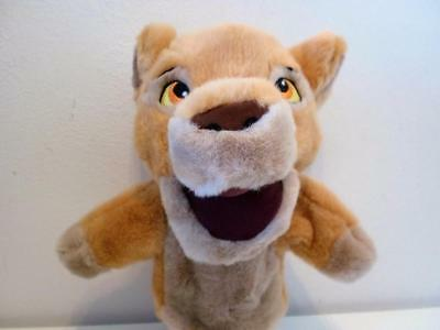 Disney Store The Lion King Simba Cub Glove Hand Puppet Plush Soft Toy Doll