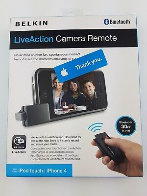 Belkin Live Action Camera Grip for Ipod Touch or Iphone 4