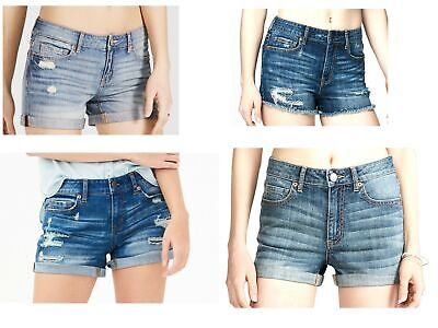ad105141fa AEROPOSTALE WOMEN'S DENIM Shorts Jean Short Trendy Styles NEW ...