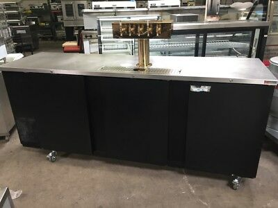 "96"" 3 Door Beer Keg Cooler 6 Tap Direct Draft Kegerator Micro Matic MDD94 #8353"