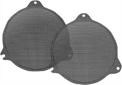 Hogtunes Replacement Front Mesh Speaker Grills for Harley Electra Glide 14-18