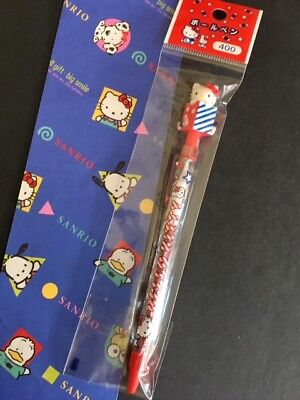 NEW VINTAGE Sanrio Hello Kitty Classic Red Candy Box Ball Point Pen RARE