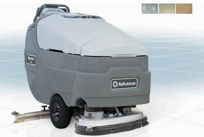 "Advance Warrior ST 32-D 32"" Disc Walk-Behind Automatic Floor Scrubber Cleaner"