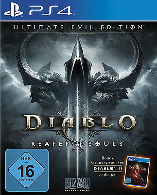 Diablo 3 III - Reaper of Souls - Ultimate Evil Edition - PS4 - *NEU*