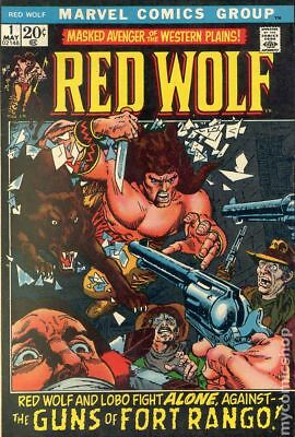 Red Wolf #1 1972 GD/VG 3.0 Stock Image Low Grade