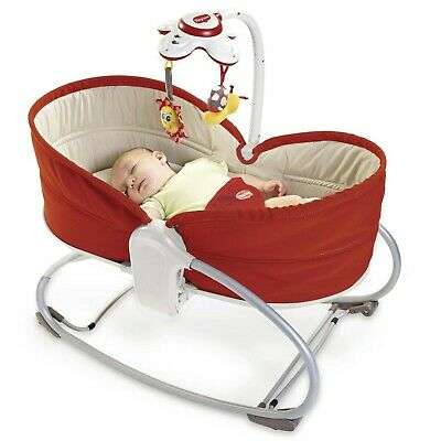 Culla Sdraietta Tiny Love 3 in 1 Rocker Napper Rossa